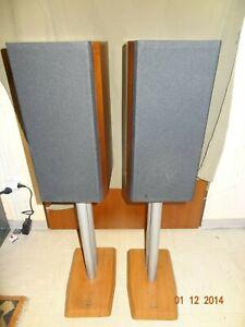 Hans-Deutsch-HD-305-Lautsprecher-Boxen-Speaker-mit-passenden-Stander