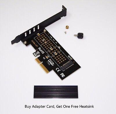 PCI-E X4 X8 X16 ADAPTER for M.2 NVME SSD SM961 SM951 950Pro Radiator version