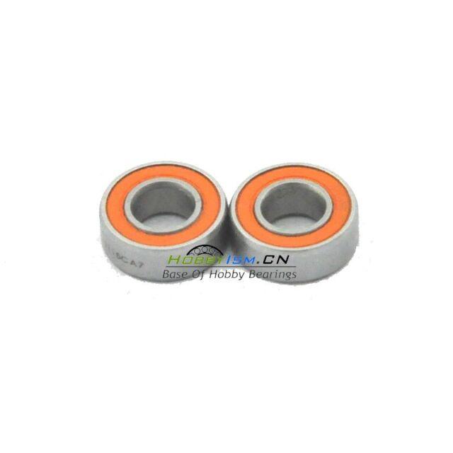 2PCS  5x11x4 Hybrid Ceramic Lube Dry Fishing Reel Bearing SHIMANO DAIWA ABU