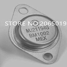 2PCS   MJ21194   MJ21194G  TO-3  High power audio power amplifier transistor