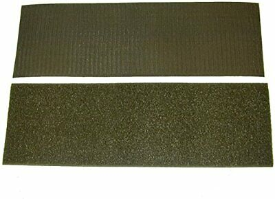 "Loop Side Only Self Adhesive 2/"" Wide Olive Drab Green 3 FEET"
