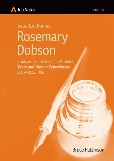HSC English Top Notes study Guide Rosemary Dobson