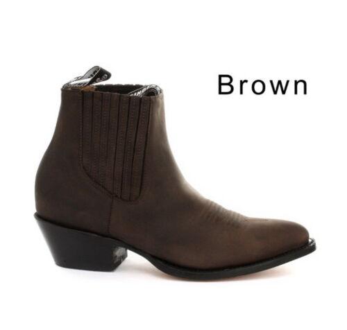 Grinders Maverick Braun Herren Western Cowboy Stiefel 5