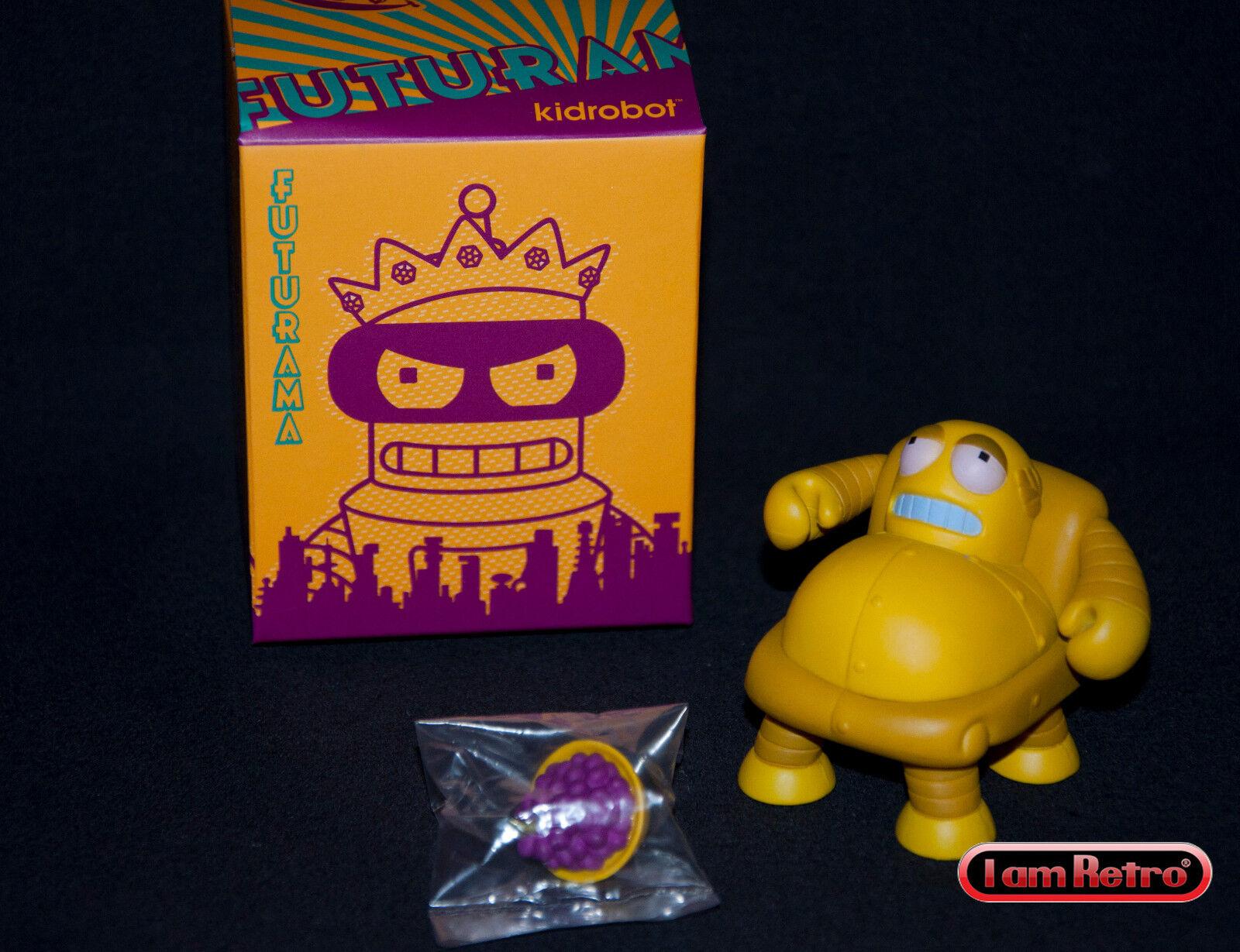 Hedonism Bot - Futurama Series 2 Kidrobot 3 inch Vinyl Figure Brand New in Box