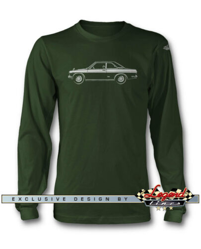 Datsun 510 SSS 1600 Bluebird Coupe Long Sleeves T-Shirt  Multiple Colors /& Sizes