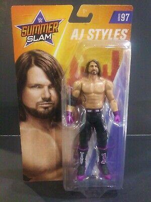 WWE Mattel AJ Styles Series 97 Basic Figure
