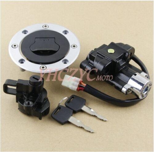 Ignition Switch Gas Cap Helmet Lock Key for Suzuki GSF600 GSF1200 Bandit 95-05