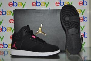 65b897c2b27e58 Jordan 1 Flight 4 Prem GG 828245 009 Girls Basketball Shoes Black ...