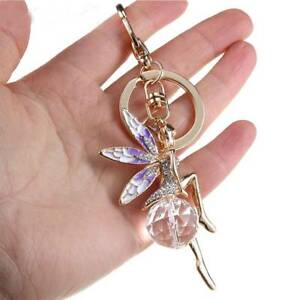 3D-Rhinestone-Crystal-Keyring-Charm-Pendant-Purse-Bag-Key-Chain-Keychain-Gift