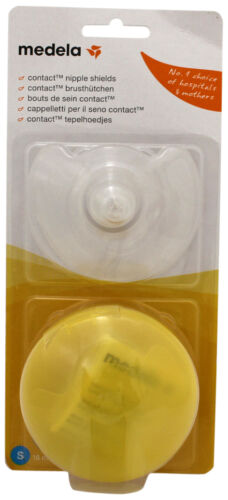 Medium /& Large Sizes :Choose From Small Medela Contact Nipple Shields 2 Pack