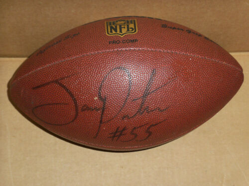 Joey Porter, Pgh Steelers, Signed Full Size Wilson Football