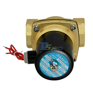 Pneumatic-Solenoid-Valve-1-1-2-034-DC-12V-Normally-Closed-4-Points-Diameter-Copper