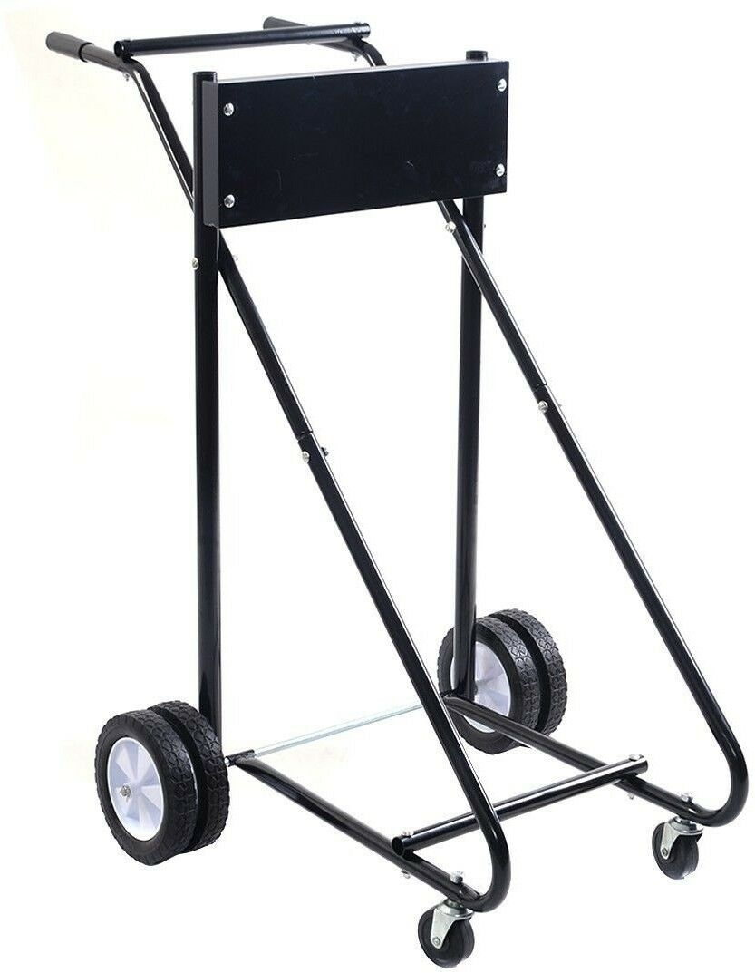 Motor Cart Dolly Outboard Boat Stand Carrier Storage Heavy Heavy Heavy Duty 315 Lb Capacity e97378