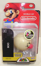 World of Nintendo BOO GHOST Action Figure SEALED Exclusive 1-3 Glow in Dark 2.5""
