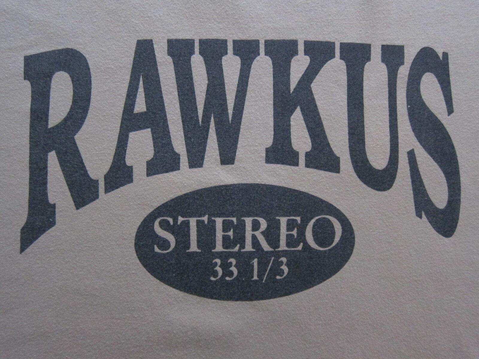 Vintage Rawkus Records t-shirt Mos Def Talib Kweli Hi-Tek rap hip hop 90's M