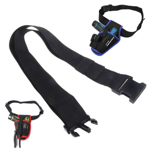 Electrician Contractor Tool Pocket Storage Nylon Belt Bag Pouch Holder Organize