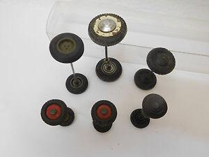MES-56191-Altere-6-St-verschiedene-Achsen-mit-Gummiraeder
