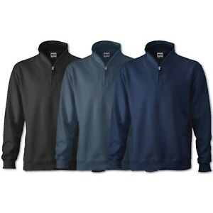 James+Nicholson Men`s Hoody Herren Kapuzen Sweat Shirt Jacke Pullover