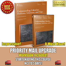 Understanding Calculus DVD New Sealed + Workbook Teaching Co Great Courses