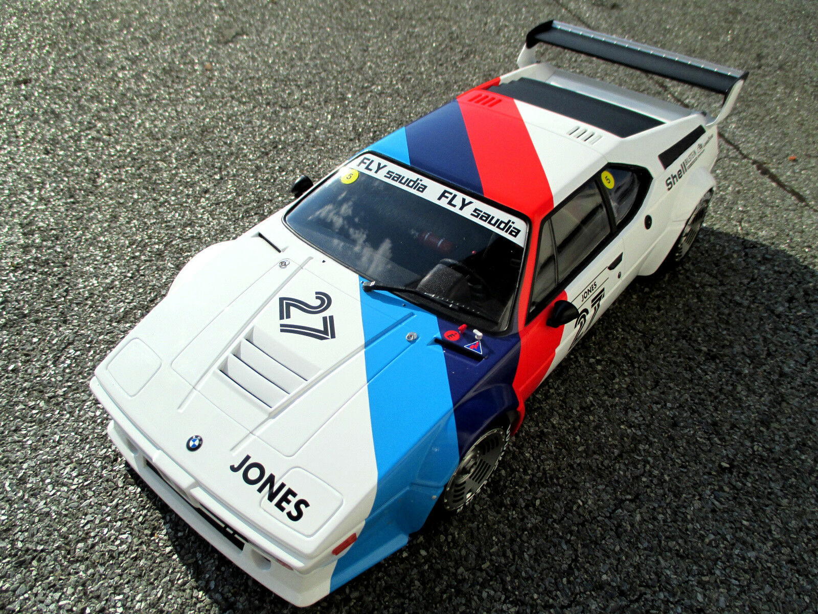1 12 BMW m1  27 Alan Jones 1979 PROauto serie Minichamps 125 792927 Top + NUOVO