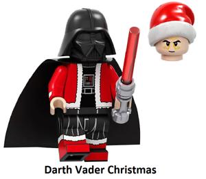 Minifigure Rare Custom Lego Darth Vader Christmas New Version Star Wars Movie