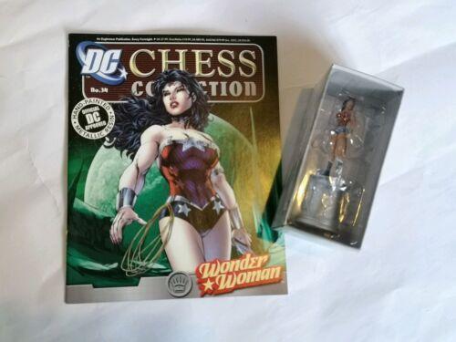 DC COMICS Batman Chess Collection #34 Wonder Woman Eaglemoss Figure /& magazine