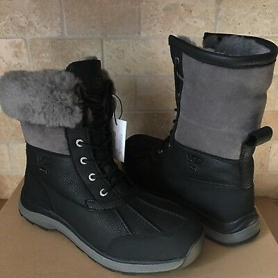 Ugg Adirondack Iii Chestnut Black Uggs Kids Boots Sale Tall