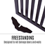 thumbnail 10 - Pet Gate Step Over Dog Gate Freestanding Assembly-Free Puppy Foldable Fence New