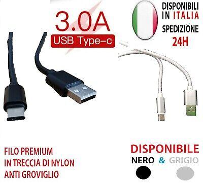 Trasformatore Caricatore USB Type C Ricarica Veloce, colore