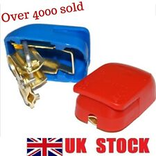Quick Release Battery Terminals Clamps 12V Pair Car Caravan One Motorhome