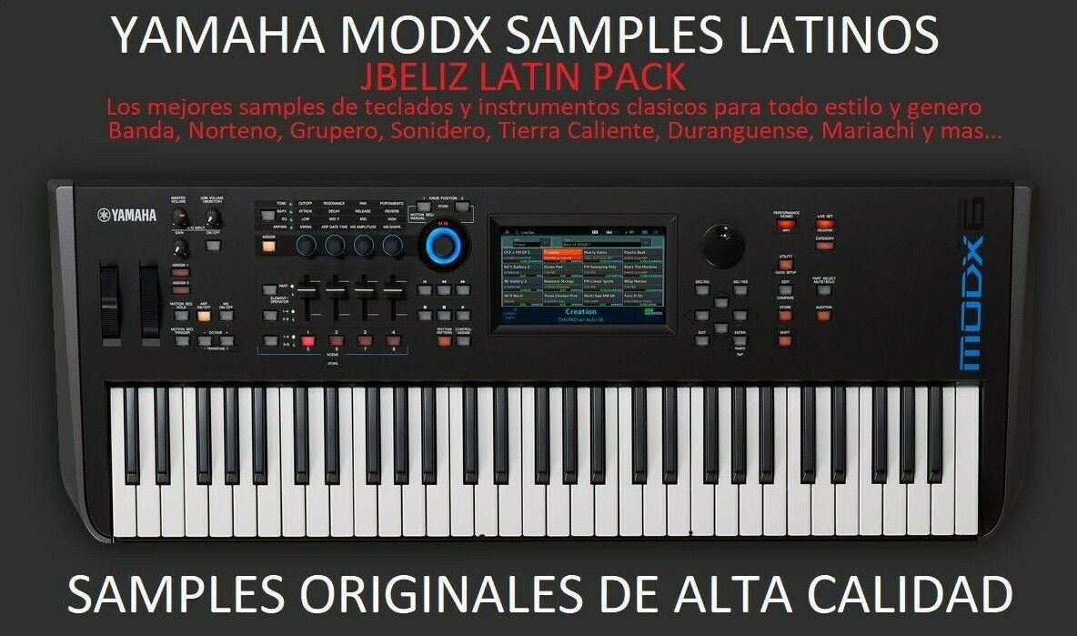 Samples Latinos Para Yamaha MODX