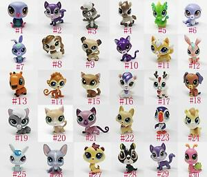 Littlest-Pet-Shop-LPS-PUPPY-husky-Dachshund-DOG-fox-cat-horse-deer-snail-monkey
