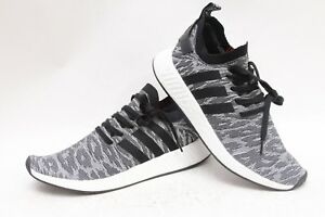finest selection 6d336 3c126 Details about Adidas NMD R2 PK Shadow Black/ White/ Grey Red Boost BY9409  Primeknit Sz 12