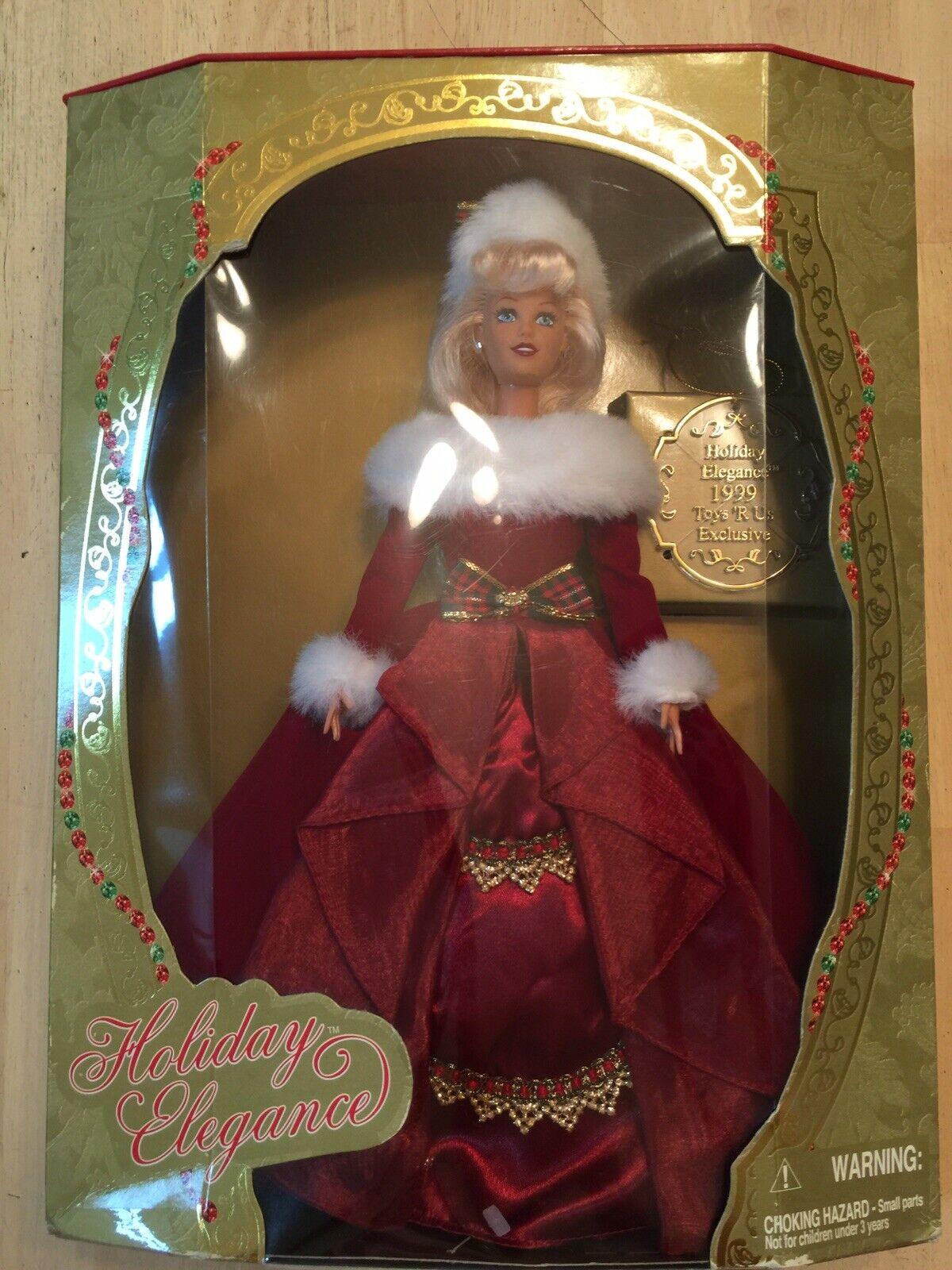 Jakks Pacific, Inc. 1999 Holiday Elegance Toys R Us Exclusive Doll Blonde 11391