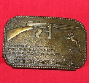 Colt-Firearms-Thompson-Machine-Gun-Belt-Buckle