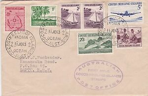 1963-definitive-set-of-6-on-plain-FDC-with-violet-cachet-ST260