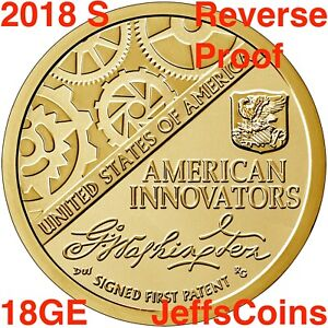 2018 American Innovation $1 Reverse Proof Coin