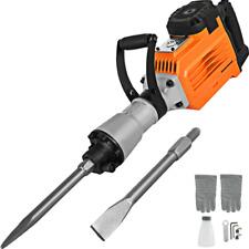New Listing3600w Electric Demolition Jack Hammer Concrete Breaker Punch 2 Chisel Bit 60j