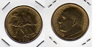 VATICANO-Papa-Giovanni-Paolo-II-200-Lire-1981-FDC