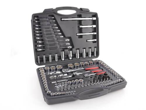 1//2 inch 120 Piece Set Set Mechanics DIY T... Socket Set Ratchet Set 1//4 3//8