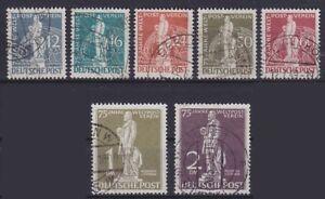 Berlin-Mi-Nr-35-41-38-41-tiefst-geprueft-Schlegel-BPP-gest-UPU-1949