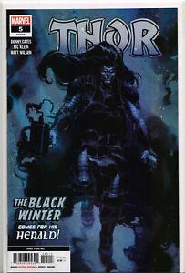 THOR-5-3RD-PRINT-VARIANT-BLACK-WINTER-Comic-Book-Marvel-Comics