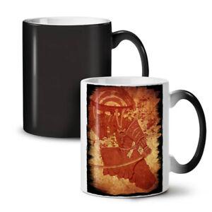 Vintage Warrior Fantasy NEW Colour Changing Tea Coffee Mug 11 oz | Wellcoda