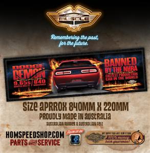 DODGE DEMON Bar Runner - FASTEST PRODUCTION CAR IN THE WORLD HEMI