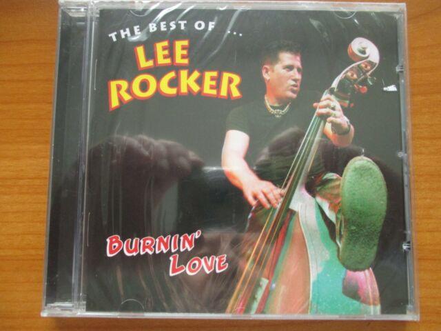 CD THE BEST OF LEE ROCKER BURNIN´ LOVE - OVP -