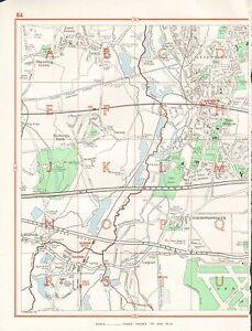image is loading 1964 vintage london street map iver west drayton