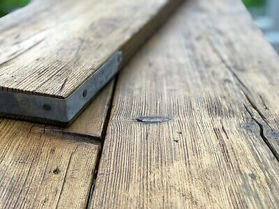 Distressed Shelves; Industrial Reclaimed Rustic Wooden Scaffold Board Shelf