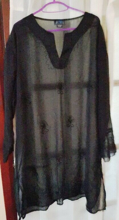 Noor Black Freesize Dress