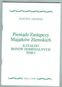 Bogumil Sikorski, Die Not-, Und Wertmarken Der Domänen In Polen, 9 Bände Das Ganze System StäRken Und StäRken