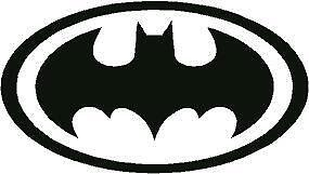 p481 BATMAN SOMBRA VINILO PEGATINA STICKER COCHE PARED MOTO AUTOCOLLANT